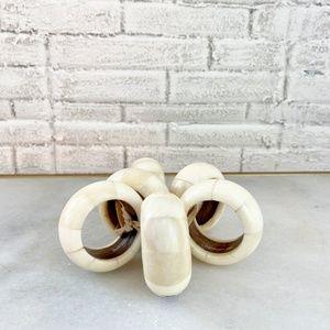Bone Napkin Rings